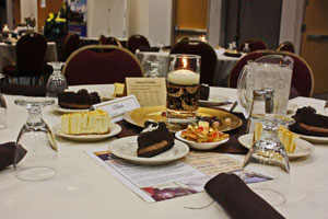 A view from the Recipient Recognition Dessert