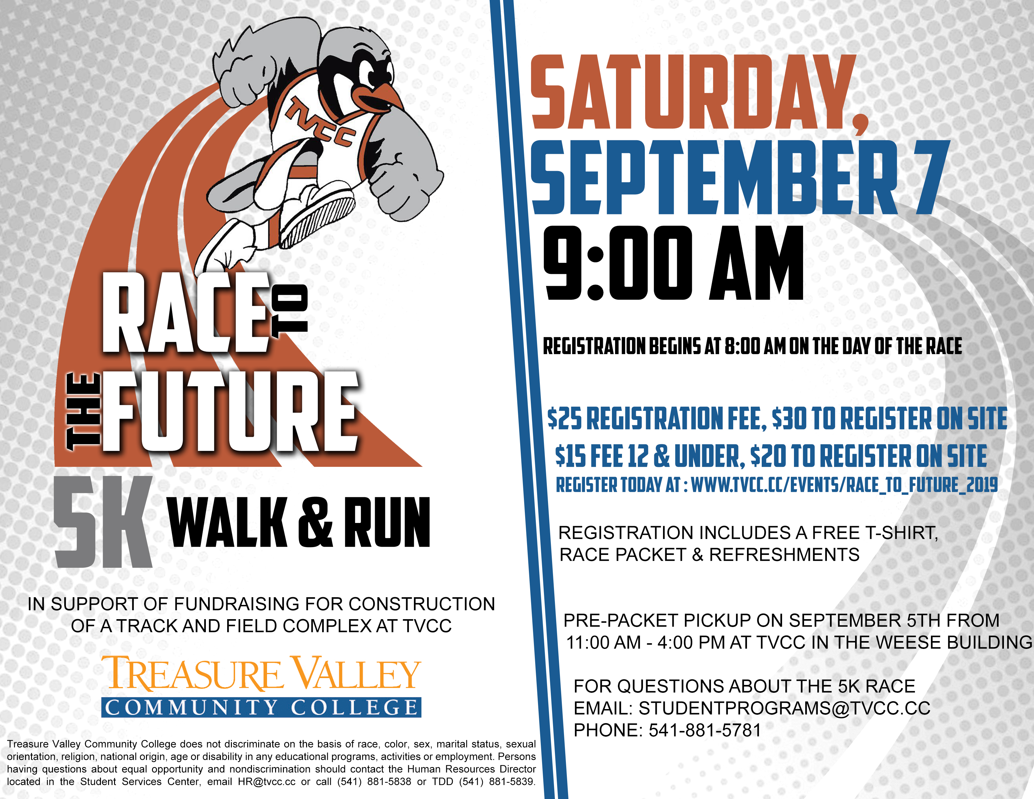 race to the future 5k run walk