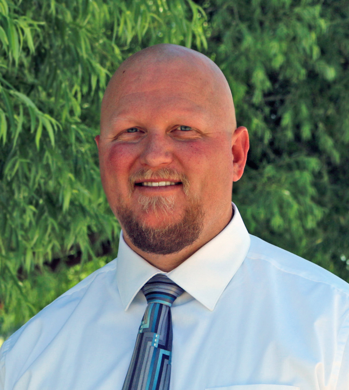 Travis McFetridge name VP of Student Services